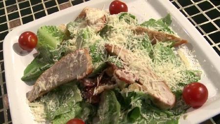 Салат Цезарь  рецепт приготовления, калорийность