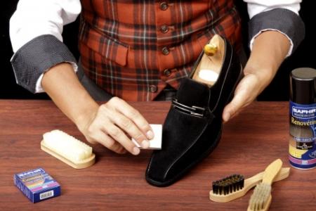 Как чистить обувь из замши. Чистка замшевой обуви