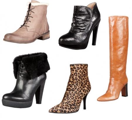 Модная обувь - зима 2012