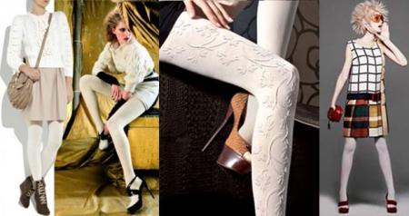 Колготки моды 2012