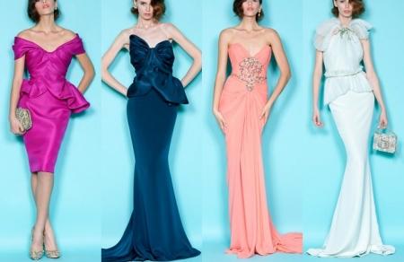 Вечерние платья 2012