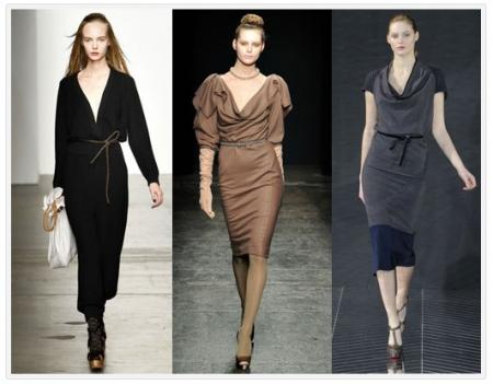 Модные платья 2012