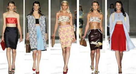 Что носить девушке в сезоне весна-лето 2012 года