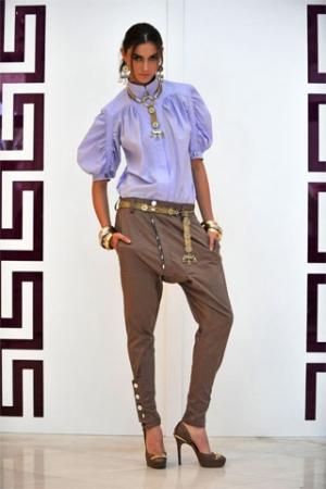 Брюки-галифе женские модные, брюки