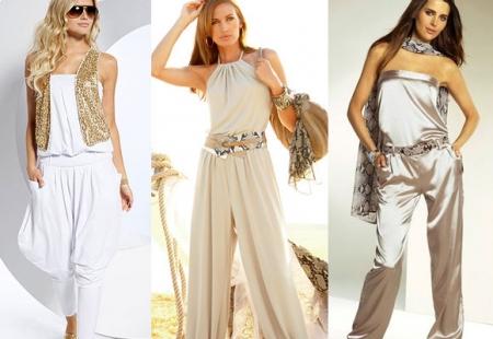 Модные летние комбинезоны