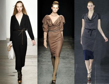 Туники и трикотажные платья 2012