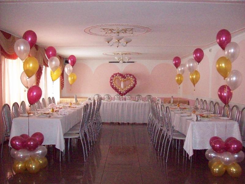 Свадебные украшения зала фото своими руками