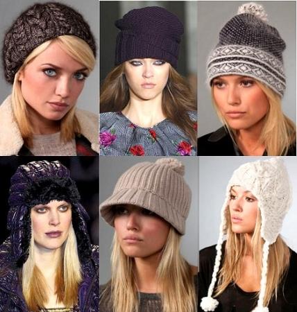 Модные трикотажные головные уборы