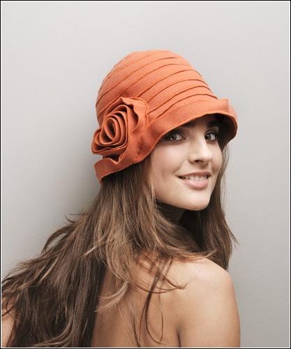 Вязание женский головной убор