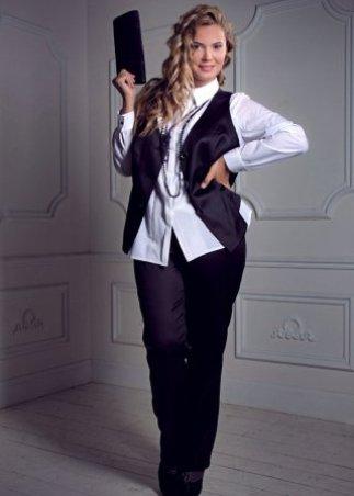 Офисная одежда для полных » WomanFAQ - сайт