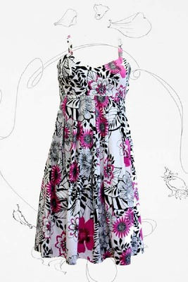 Платья в цветочек для полных женщин