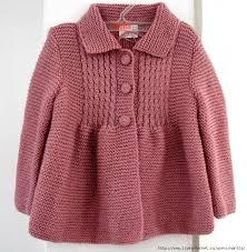 Вязаное детское пальто » admin