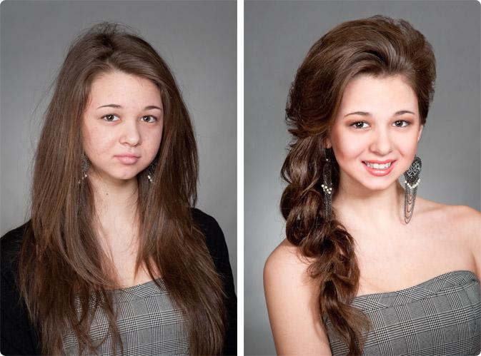 """Женский сайт  """"Скажи миру!  Профессиональные прически на длинные волосы."""