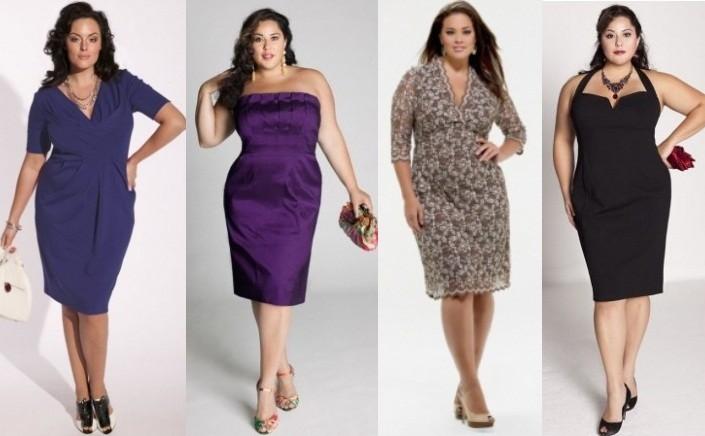 Модные платья для полненьких девушек