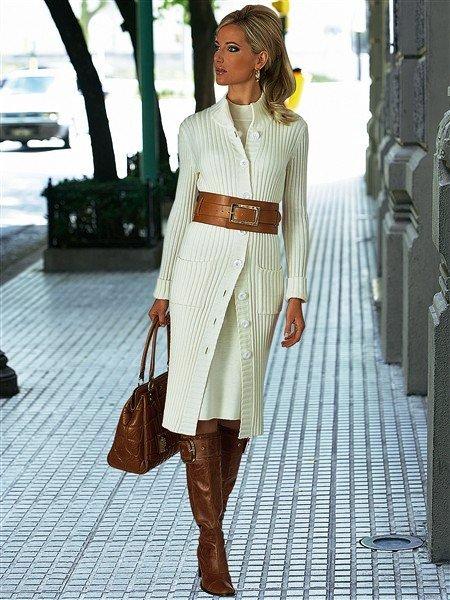 Цена на Женское дизайнерское белое пальто в русском стиле Diana
