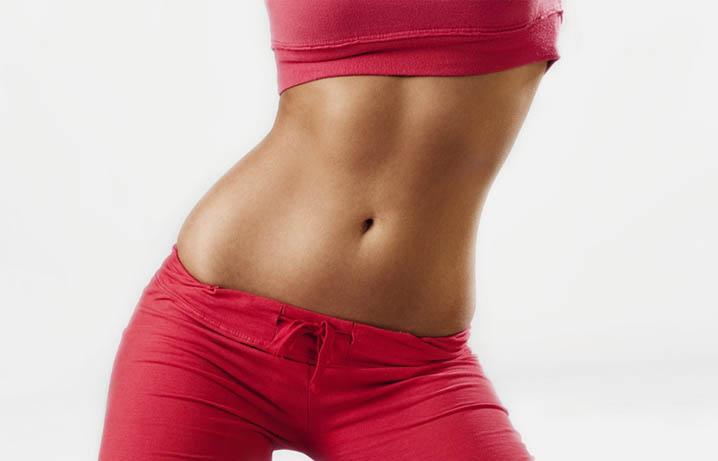 убрать жир с живота пресс не помогает