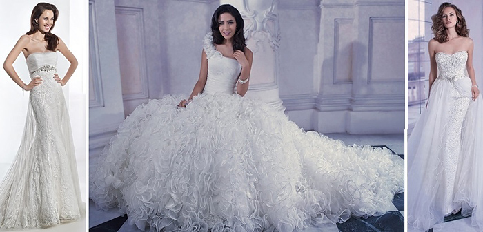 Стильная невеста: каталог свадебных платьев 2014 фото