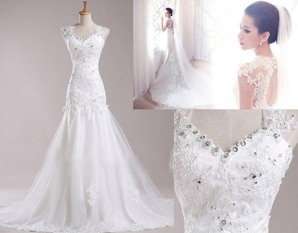Выбор невесты: свадебные платья с кружевным верхом » admin