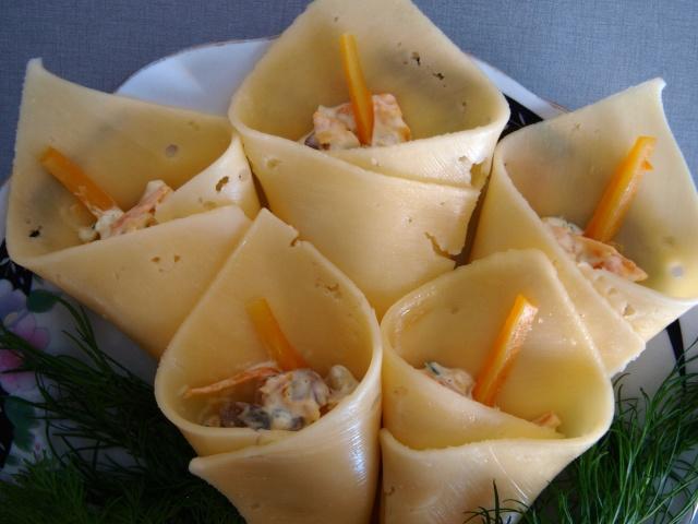 Закуски из сыра фото рецепты