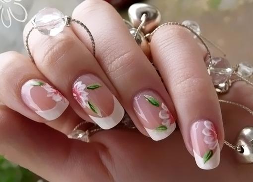 Дизайн на нарощенные ногти фото 2017
