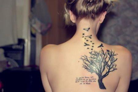 Татуировки для девушек значение татуировок