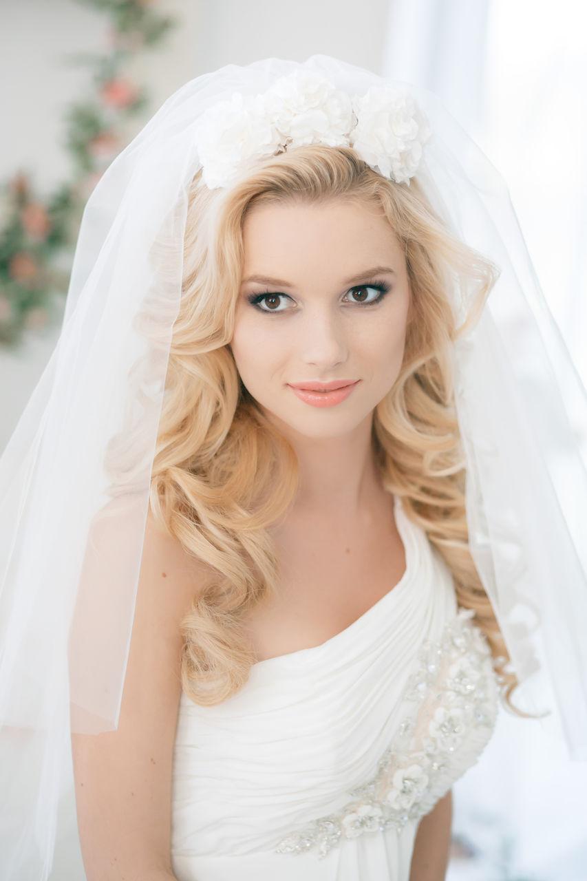 Шикарная невеста лучшая прическа на