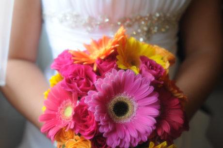Как выбрать букет свадебный из гербер » admin