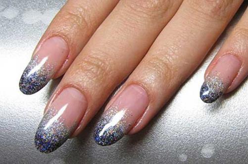 Кончиков ногтей ногти дизайн зима 2014