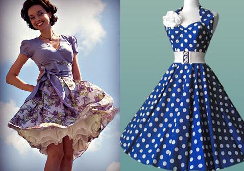 Вечернее платье 60-х годов