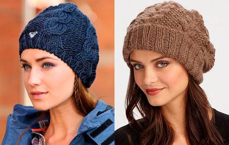 модные женские вязаные шапки 2014 2015 портал советов для женщин и