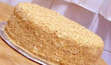 Домашняя кулинария - торт «Наполеон»