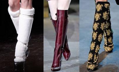 Мода на сапоги 2015