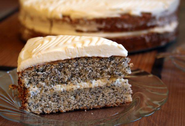 Маковый торт – лучший рецепт