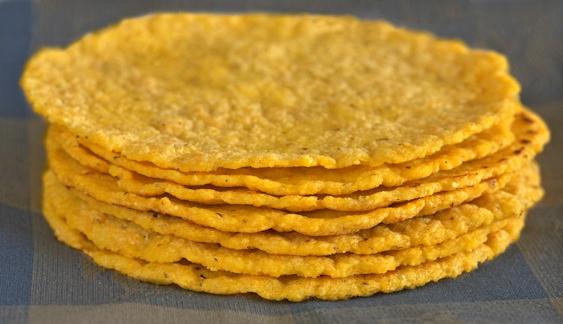 Кукурузные лепешки. Рецепт