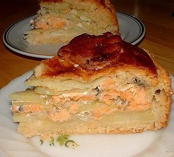 Тесто на пирог с рыбой