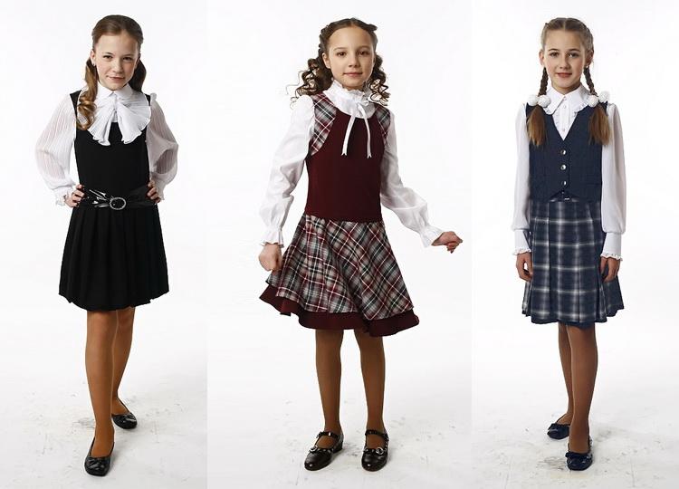 Школьная блузка для девочки 114