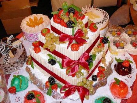 Необычный фруктовый торт рецепт