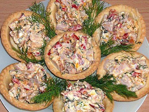 кулинария холодные закуски салаты рецепты