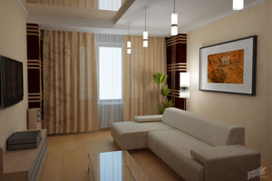 дизайн интерьера 2 комнатной квартиры