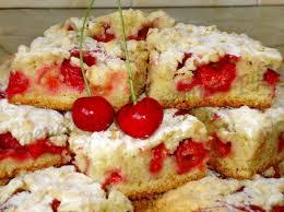 Необычный песочно-бисквитный пирог