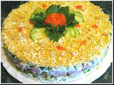 Недорогие салаты на день рожденья