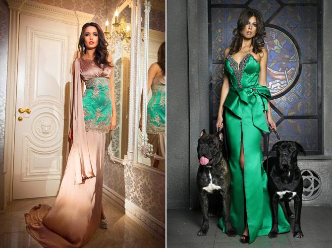Российский дизайнер вечерних платьев