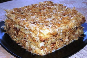 Кулинария: торт «Наполеон»