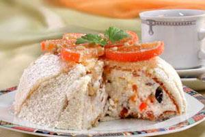 Рецепт творожного торта в домашних условиях
