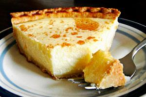 Рецепт пирога с творожной начинкой в духовке