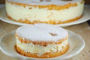 Рецепт творожно сливочного торта